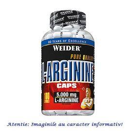 Arginine 5000 mg 100 capsule Weider, image