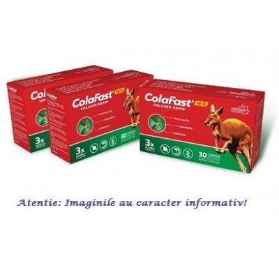 Colafast Colagen Rapid Pachet 3 cutii cu 30 capsule Good Days Therapy, image 1