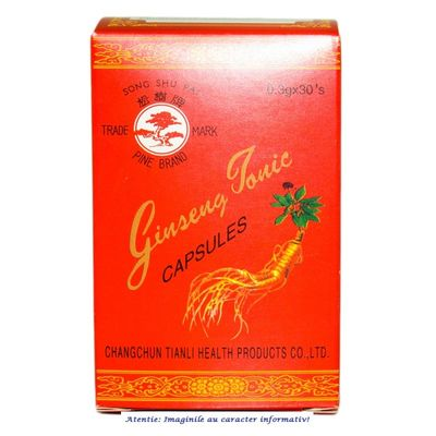 Ginseng Tonic 30 capsule L&L Advancemed, image 1