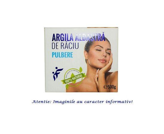 Argila Albastra de Raciu Pulbere 500 g Romcos, image