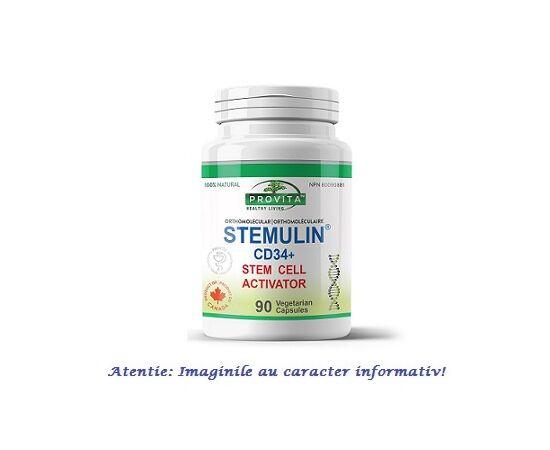 Stemulin CD34+ (generatia a II-a) 90 capsule Provita Nutrition, image