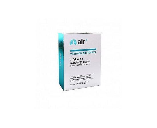 Air 7 Vitamina Plamanilor 30 capsule Green Splid, image