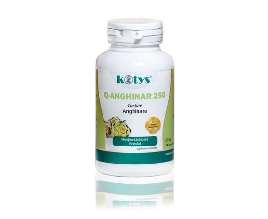Q Anghinare 250 mg 60 capsule Kotys, image