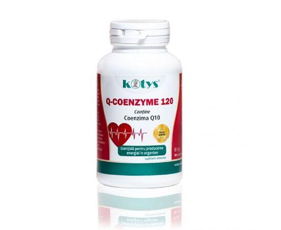 Q Coenzima Q10 120 mg 60 capsule Kotys, image
