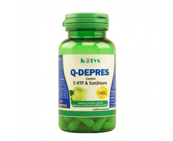 Q Depres cu 5 HTP & Sunatoare 60 capsule Kotys, image