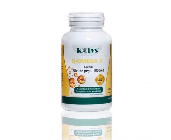 Q Omega 3 1000 mg 60 capsule Kotys, image